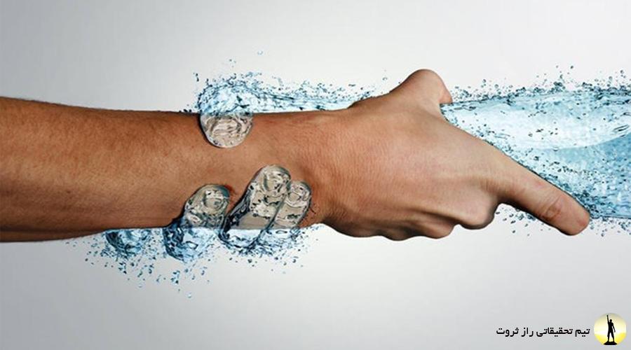 فواید آب درمانی