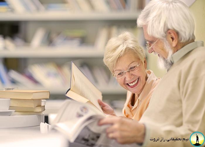 مراجعه افراد سالمند به مراکز خرید