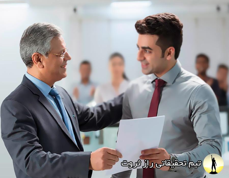 قواعد احترام گذاشتن به نیروهای شرکت