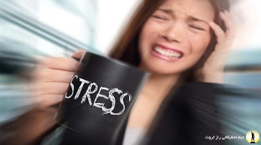 علائم و نشانه های استرس