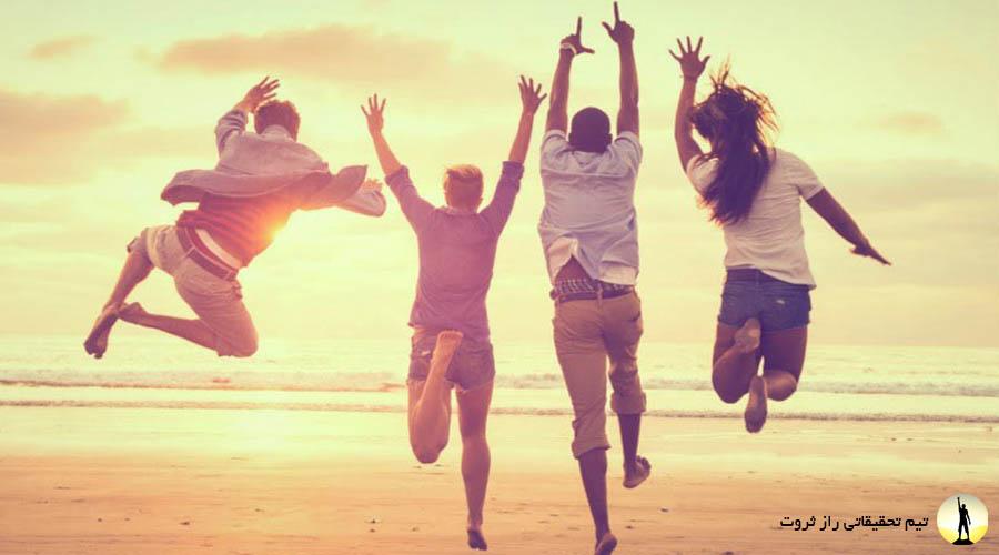راه های ساده برای شادبودن