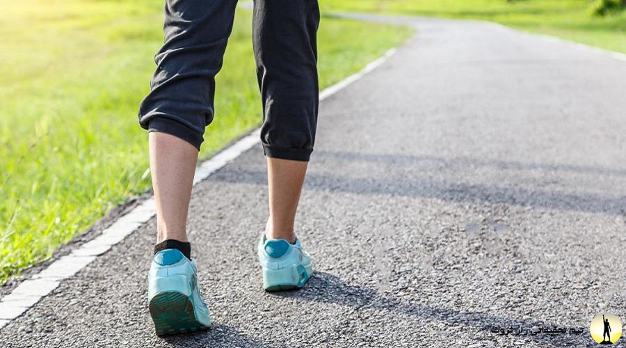 فواید پیاده روی برای سلامتی