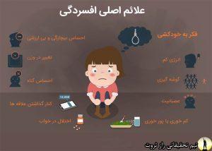 افسردگی چیست و عوامل و دلایلش
