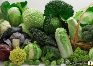 تا میتوانید سبزی بخورید