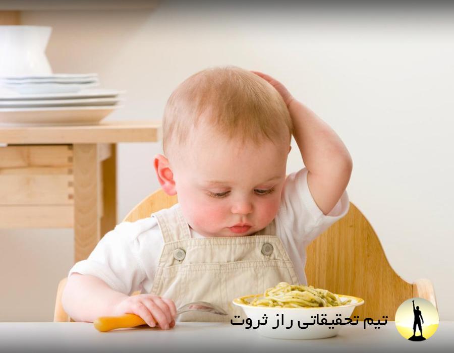 با بدغذایی کودکان چه کنیم