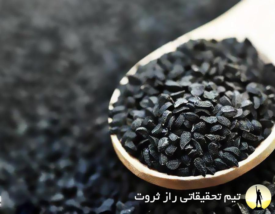فواید سیاه دانه