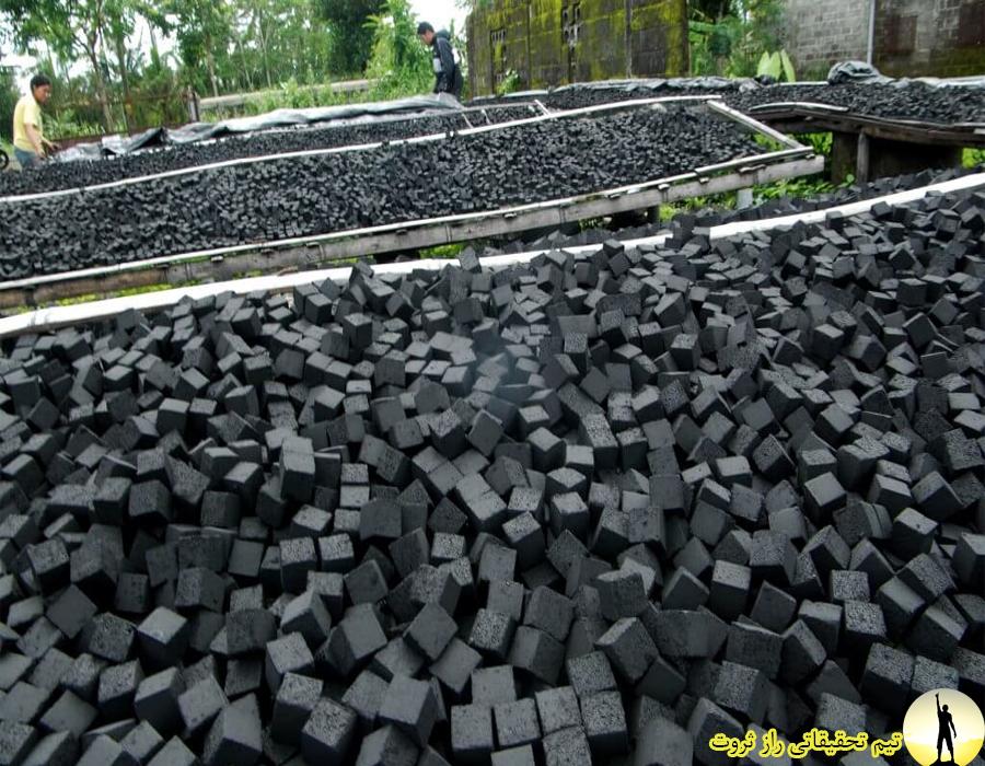 نحوه تولید زغال فشرده