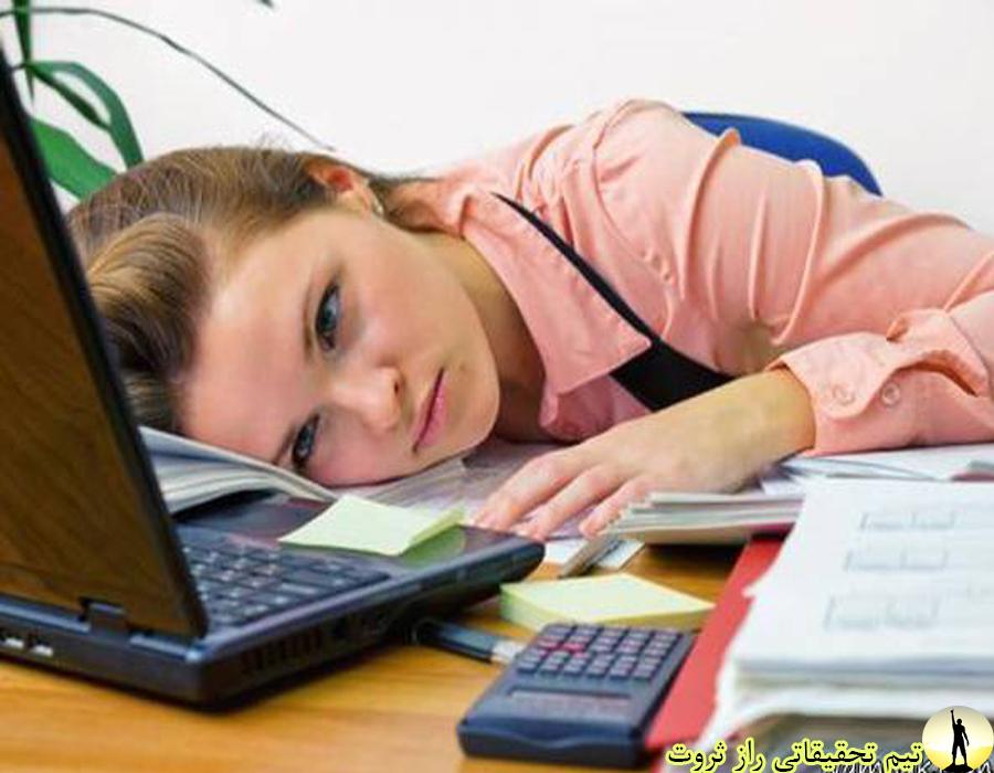 دلایل و راه حل اتلاف وقت در محل کار