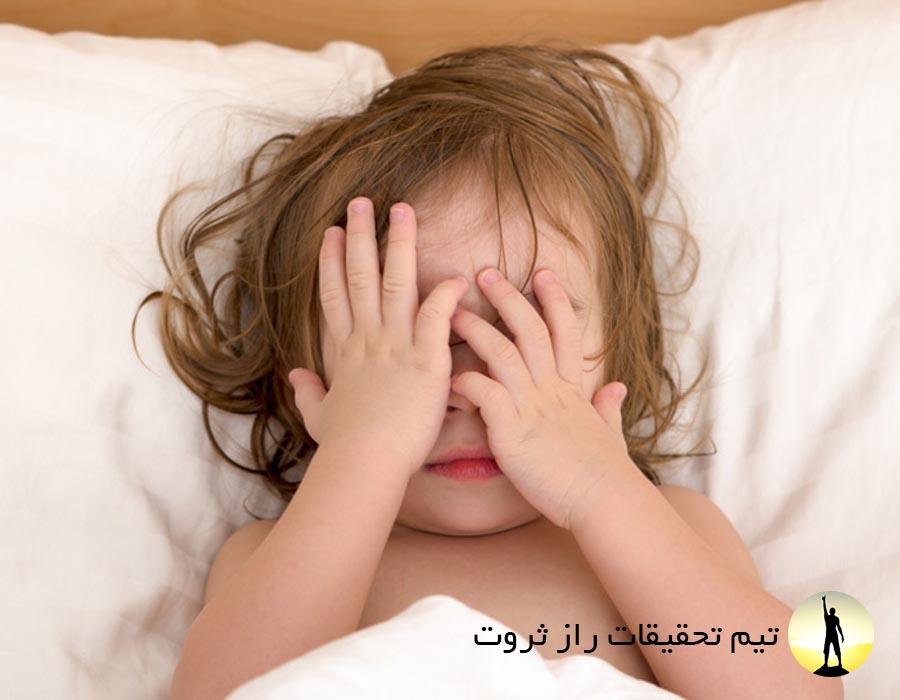 بد خوابی در کودکان