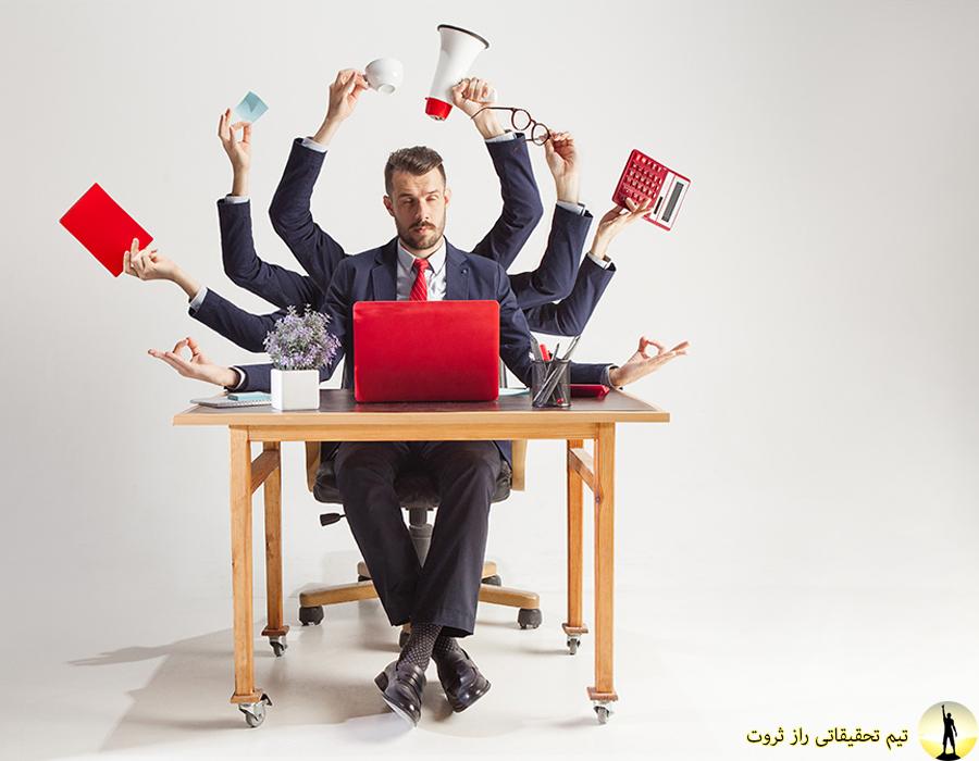 اشتباه کاری و کاهش بهره وری روزانه