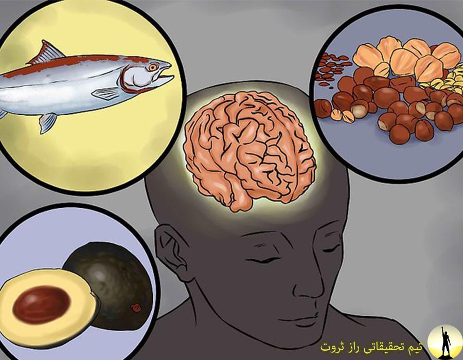 انواع خوراکی برای افزایش تمرکز