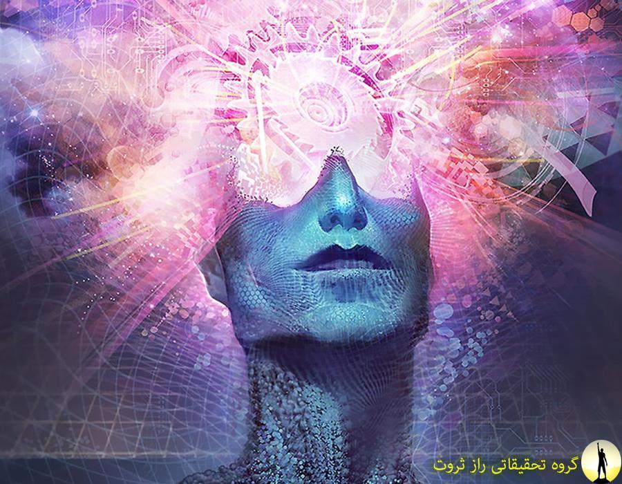ساختار ذهن بر اساس قانون جذب